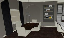 Sherbourne Circle - Kitchen 3D Drawing