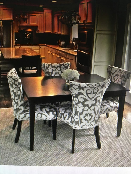 Bold Dining Room Chairs Or Solid Need Help