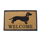 """Welcome"" Dog Doormat"