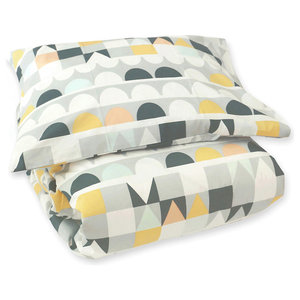 Tivoli Grey Bedding Set, Single Bed, 150x210 cm