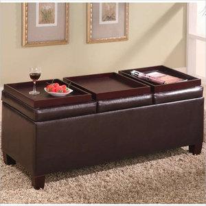 Stupendous Belham Living Corbett Coffee Table Storage Ottoman Round Cjindustries Chair Design For Home Cjindustriesco