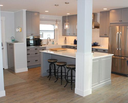 Cucina al mare Edmonton - Foto e Idee per Ristrutturare e Arredare