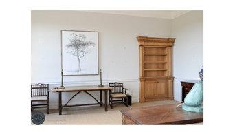 Secret Revolving Oak Bookcase