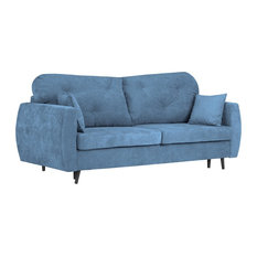 Bluzz 3-Seater Sofa Bed With Storage, Blue