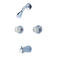 Hardware House Tub and Shower Faucet, Chrome