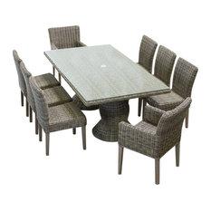 Cape Cod 9-Piece Stone Dining Table Set