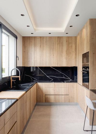 Современный Кухня by Mary Reille - Architecture d'intrieur