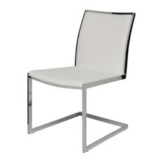Temple Dining Chair by Nuevo Living, White