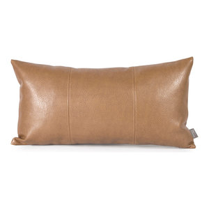 Howard Elliott Avanti Kidney Pillow, Bronze, Polyester Insert