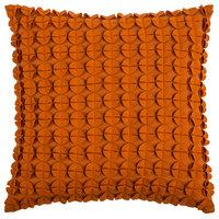 Rizzy Home Decorative Pillow, Orange