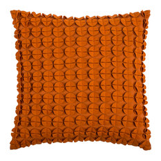 Rizzy Home Decorative Pillow, Orange