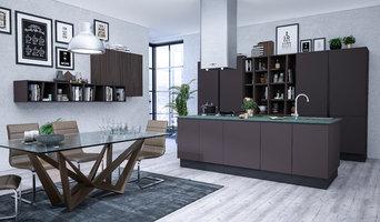 Modellazione 3d e Render Cucina Giody