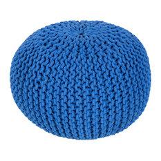 Malmo Sphere Pouf, Purple