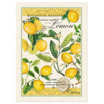 """Michel Design Works - Michel Design Works Oven Mitt, Lemon Basil - Michel Design Works Kitchen Towel - Lemon Basil has a bold print and coordinates with Lemon Basil soaps, napkins and more. They are made of 100% natural woven cotton. Size: 20"""" x 28""""."""