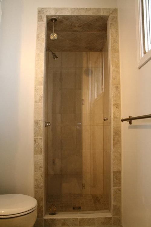 My Home Made Frameless Shower Door