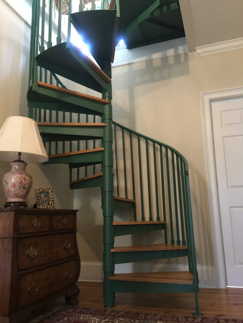 Best Color Choice For Spiral Staircase