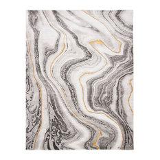 Safavieh Craft Collection CFT819 Rug, Grey/Gold, 8'x10'