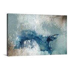 """Seafoam Rising"" Canvas Art, 36""x24""x1.25"""