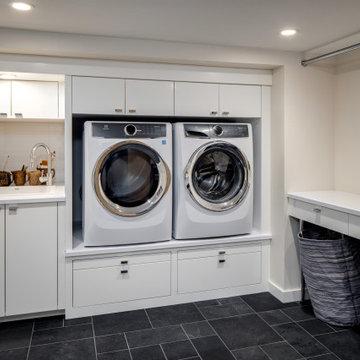 Laundry Room - Mid-Century Modern Makeover