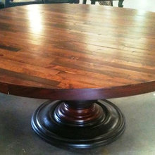 Custom Round Top Dining Tables