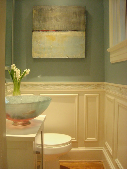 Elegant Powder Room Remodel