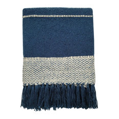 Berber Throw, Blue