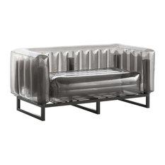 Yomi Inflatable Love Seat, Black