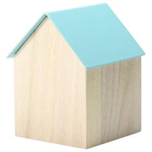 Block Storage House, Light Blue, Large