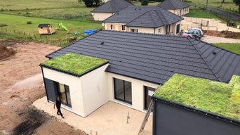 construction neuve toiture mixte