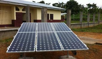 Installation de panneaux solaires