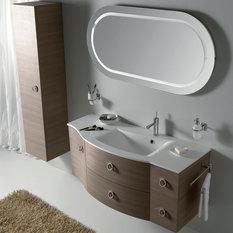 """Eviva Romina 52"""" Wenge Bathroom Vanity"""