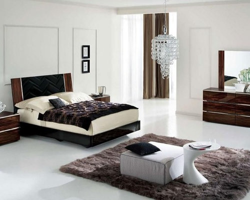 Made In Italy Wood Contemporary Master Bedroom Designs Beds