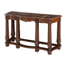 Windsor Court Sofa Table Vintage Fruitwood