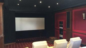 Burke Home Theatre Installation