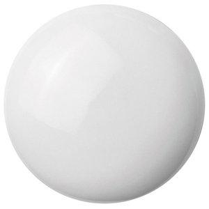 Anne Black Tilt Glossy Handle, White, Medium, Glossy