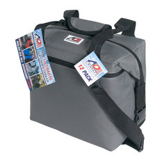 12-Pack Canvas Cooler, Charcoal