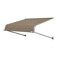 """1100 Series Aluminum Door Canopy 48""""x60"""" Projection, Sandalwood"""