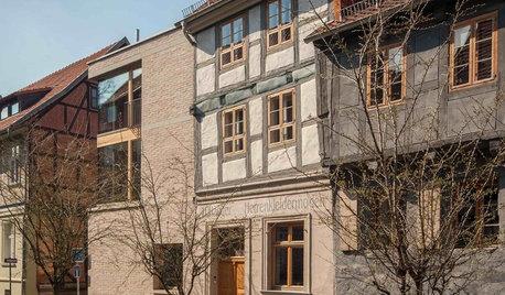Архитектура: Средневековый фахверк и современность в Кведлинбурге