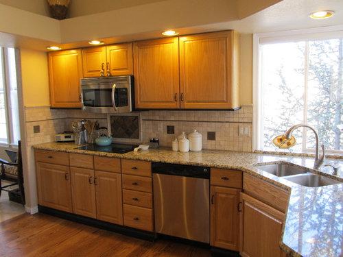 Kitchen cabinet hardware color - bronze or satin nickel?