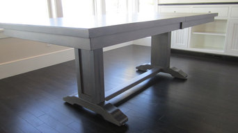 Custom designed dining table