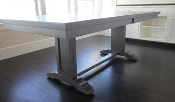 Custom designed dining table