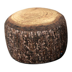 MeroWings International GmbH & Co KG - Tree Stump Outdoor Bean Bag, Forest - Garden Coffee Tables