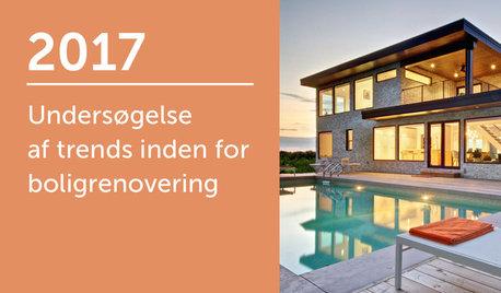 Undersøgelse af trends inden for boligrenovering 2017