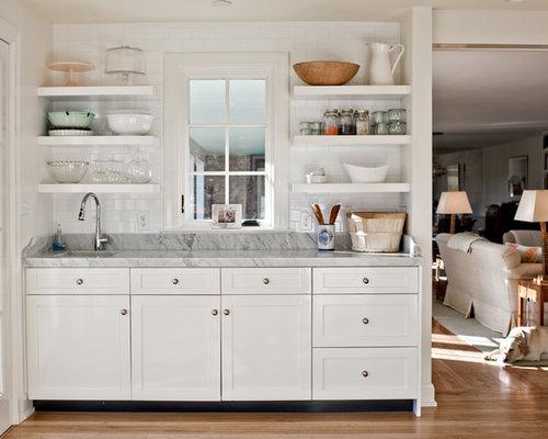 kitchen shelves | houzz