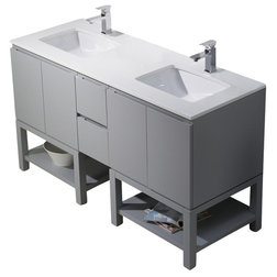 Vintage Contemporary Bathroom Vanities And Sink Consoles by BATHROOM PLACE