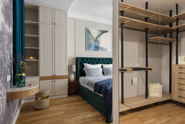 Неоклассика Спальня by Интерьерная студия AI