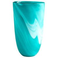 Large Sea Swirl Vase