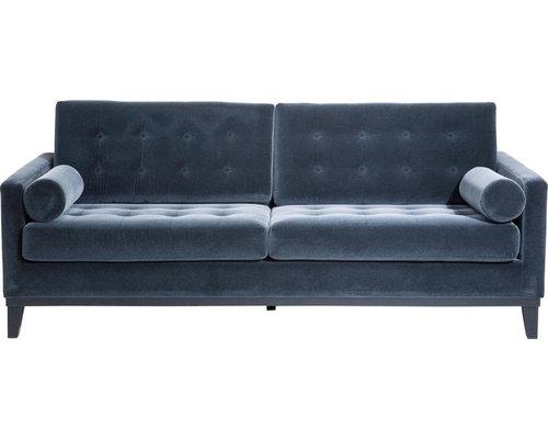 KARE Design   Sofa Casino Dark Grey 3 Sitzer   Sofas