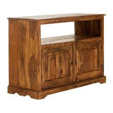 Merlin TV Cabinet, Wooden Doors
