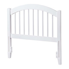 Leo & Lacey Twin Spindle Headboard In White